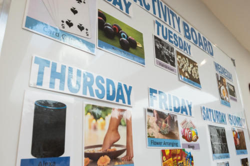 Our Activity Board