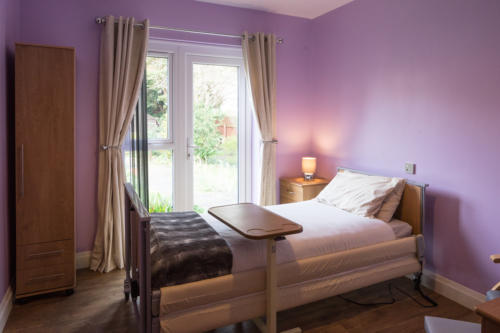 A Bedroom at Priory Care Residential